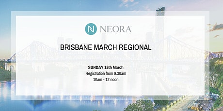 Brisbane Regional Training - March tickets