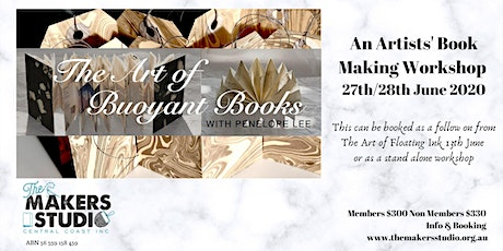 Penelope Lee - The Art of Buoyant Books tickets