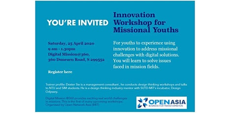 Innovation Workshop for Missional Youths  tickets