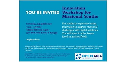 Innovation Workshop for Missional Youths