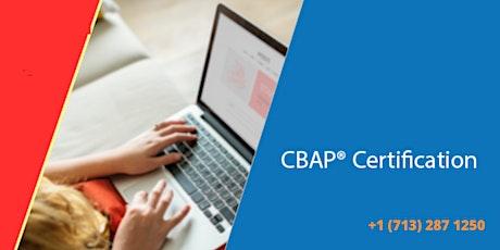 CBAP Classroom Certification Training in Manama,Bahrain tickets
