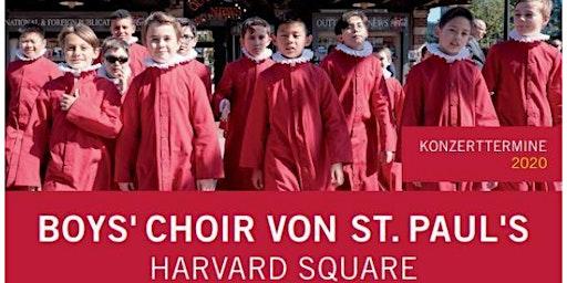 Der Knabenchor von Saint Paul's   Harvard Square