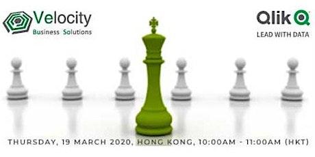 Qlik Sense Data Visualization Webinar (19 March 2020) tickets