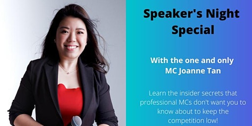 Speaker's Night Special: Insider Secrets of Professional Emcees