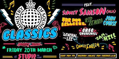 MINISTRY OF SOUND 2020 ft Sidney Sampson,The Potbelleez, Kid Kenobi & more! tickets