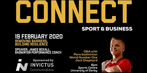 Derbyshire Institute of Sport - CONNECT networking Feb 2020
