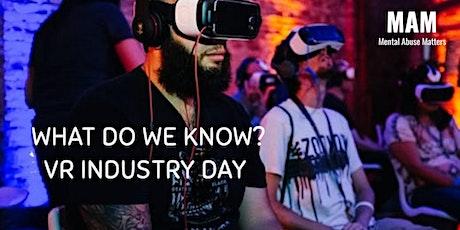 VR Best Practice Workshop - what do we know? tickets
