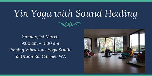Yin Yoga with Sound Healing