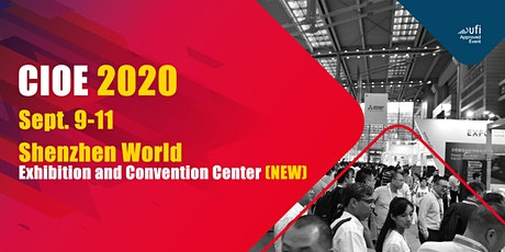 CIOE 2020 (the 22nd China International Optoelectronic Exposition) tickets