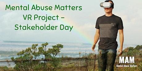 VR Best Practice Workshop - Stakeholder Day tickets