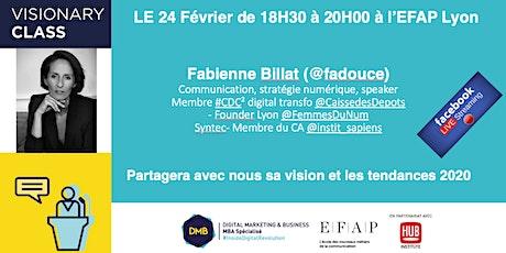 Visionary Class MBADMB EFAP Lyon tickets