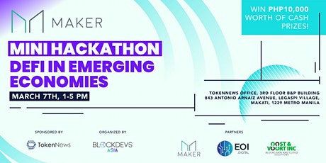 MINI Hackathon: Defi In Emerging Economies tickets