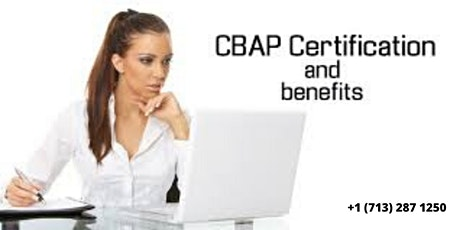 CBAP BootCamp Training in Singapore,Singapore tickets