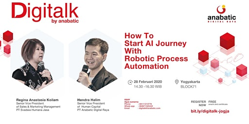 Digitalk : How To Start AI Journey With Robotic Process Automation