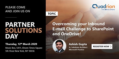 Overcoming your Inbound E-mail Challenge to SharePoint and One Drive! tickets