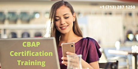 CBAP Classroom Certification Training in Woodlands,singapore tickets