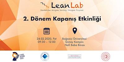 LeanLab 2. Dönem Kapanış Etkinliği