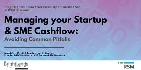 Managing your Startup & SME Cash Flow by RSM tickets