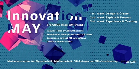INNOVATION MAY Kick-Off-Event Tickets