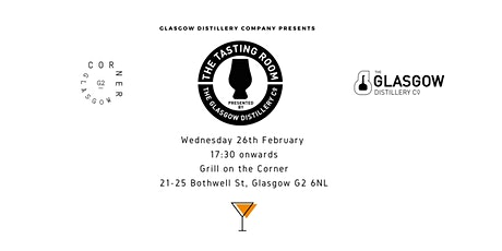 The Tasting Room by Glasgow Distillery Launch Party tickets