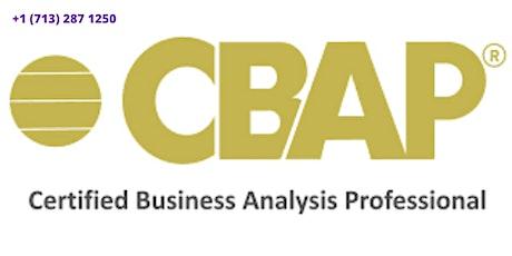 CBAP Classroom Certification Training in Johor Bahru,Malaysia tickets