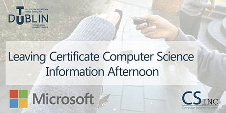 Leaving Certificate Computer Science Information Afternoon tickets