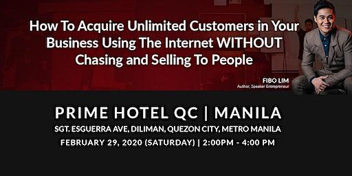Internet Business Launch Seminar-Quezon