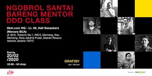 #DDDmeetup - Ngobrol santai bareng mentor DDD Class