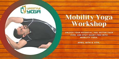 Mobility Yoga Workshop with Sumit Manav tickets