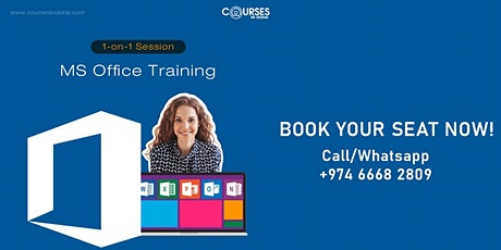 MS OFFICE TRAINING tickets