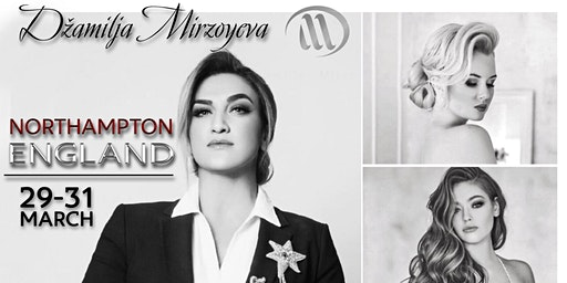 HAIRSCULPTURE Hair Up Workshop and Master Class with Dzamilja Merzojeva UK