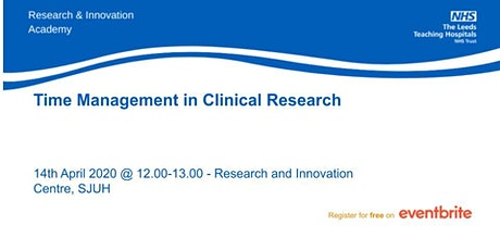 Time Management in Clinical Research tickets