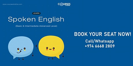 Learn Basic to Advanced Spoken English billets