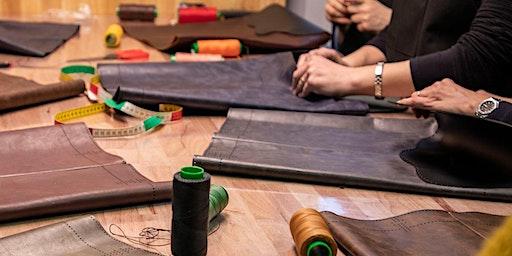 Leather Workshop : Make your own TOTE BAG (Sat. 07/03)