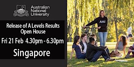 Meet World Top 30 Uni - Australian National Uni in Singapore tickets