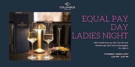 Ladies Night Parité Salariale billets