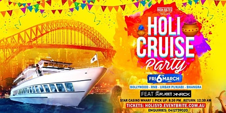 HOLI CRUISE PARTY 2020 tickets