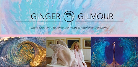 ART of CREATIVITY CLASSES With Ginger Gilmour: 1 Day Course Option 3 tickets