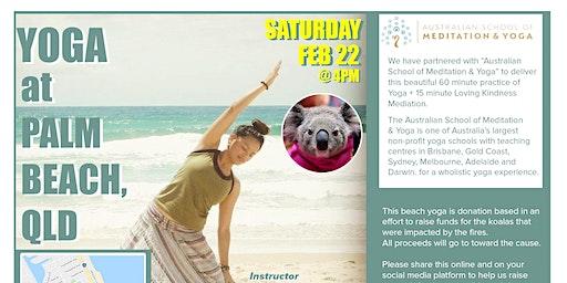 Yoga at Palm Beach
