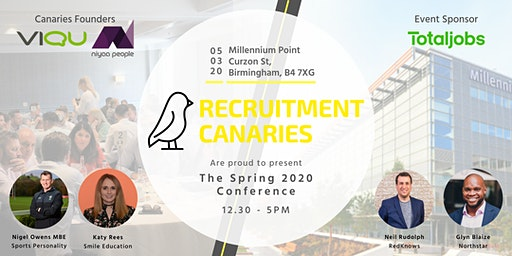 Recruitment Canaries Spring 2020 Conference