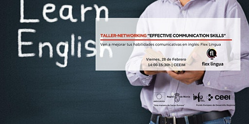 "Taller-Networking en Inglés ""Effective Communication Skills"""