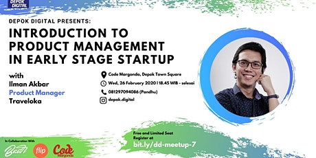 Introduction to Product  Management in Early Stage Startup tickets