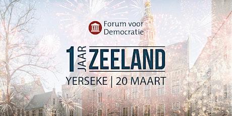 1 Jaar Zeeland tickets