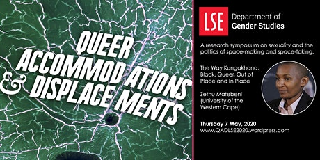 Queer Accommodations and Displacements - Research Symposium tickets
