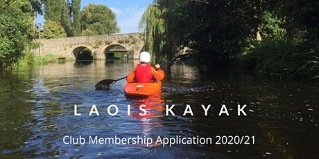 Laois Kayak & Canoe Club Membership Registration 2020 / 2021 tickets