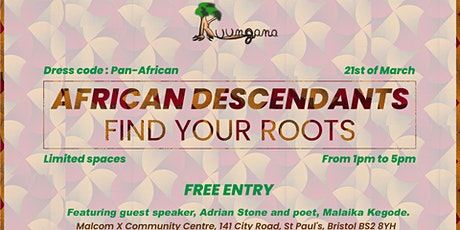 African Descendants, Find Your Roots! tickets