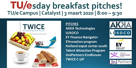 TU/esday breakfast pitches tickets