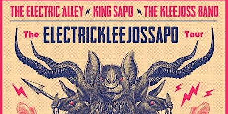 The ElectricKleejossSapo Tour entradas