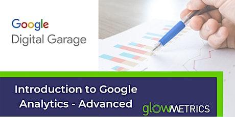 3. Google Analytics Advanced tickets