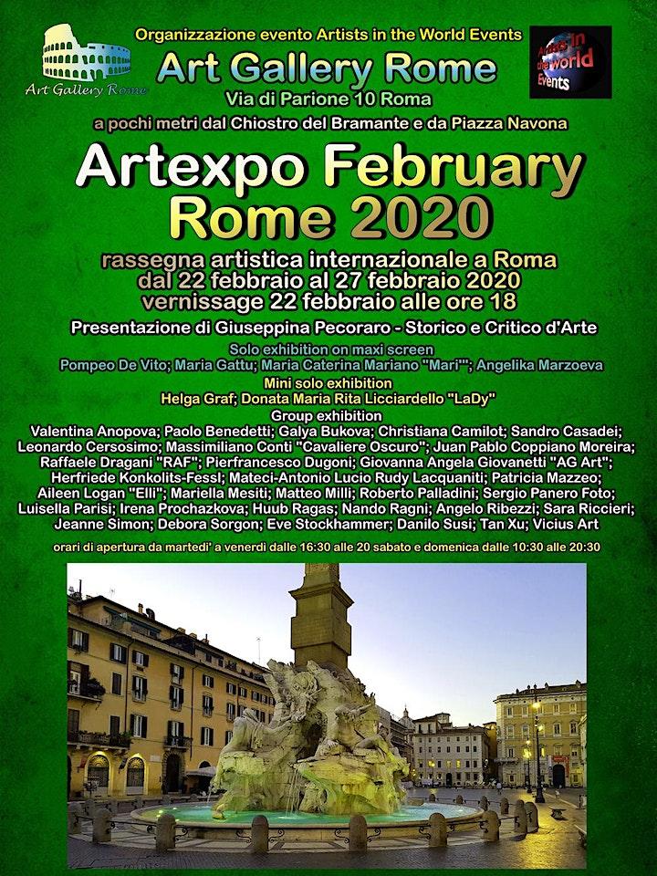 Immagine Artexpo February Rome 2020